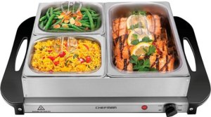 $29.99 Chefman Electric Buffet Server At Best Buy!