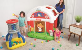 Little People Barn Ball Pit $27.99 At Walmart