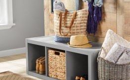 $39.88 Better Homes & Gardens 3-Cube Storage Organizer