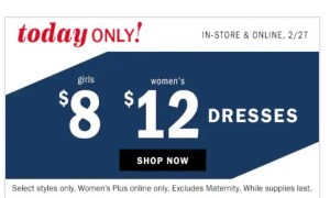 Dresses at Old Navy #AmySaves