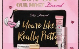 Too Faced 25% off PLUS FREE GIFT #AmySaves