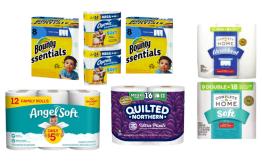 Toilet Paper And Paper Towel Deals At Walgreens!