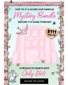 Too Faced Spring Mystery Bundle #AmySaves
