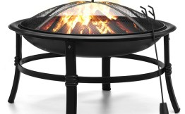 KINGSO 26 Inch Fire Pit $40.79