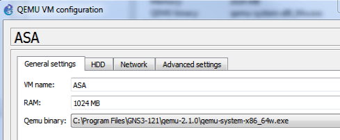 GNS3 1 2 1 – Cisco ASA 8 4 install and Tips – www ipBalance com