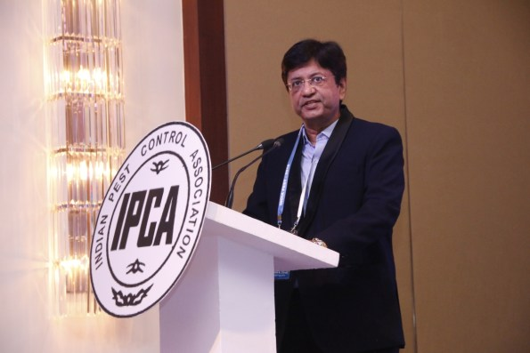 IPCA President Jaldhi Trivedi delivering his Presidential speech