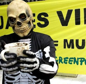 Protesto de Greenpeace no Mexico