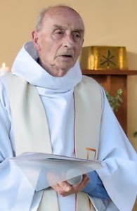"This picture obtained on the website of the Saint-Etienne-du-Rouvray parish on July 26, 2016 shows late priest Jacques Hamel celebrating a mass on June 11, 2016 in the church of Saint-Etienne-du-Rouvray, Normandy.  The 84-year-old Jacques Hamel died on July 26, 2016 after his throat was slit after two attackers stormed the church during a morning mass, taking the five people inside hostage, including the priest, interior ministry spokesman said. / AFP PHOTO / http://ser-ta-paroisse.over-blog.org/ / HO / RESTRICTED TO EDITORIAL USE - MANDATORY CREDIT ""AFP PHOTO / PAROISSE SAINT-ETIENNE-DU-ROUVRAY"" - NO MARKETING NO ADVERTISING CAMPAIGNS - DISTRIBUTED AS A SERVICE TO CLIENTSHO/AFP/Getty Images"