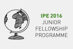 IPE 2016 Junior Fellowship Programme