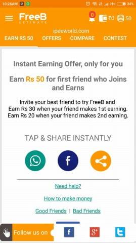 FreeB App Proof