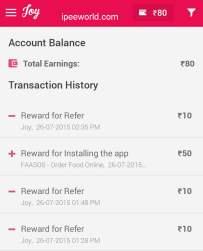 Joy App Proof - Free Recharge
