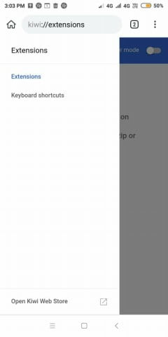 access chrome web store android