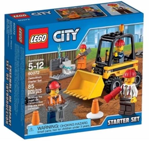 Bahsettiğim Lego City Starter setlerden biri