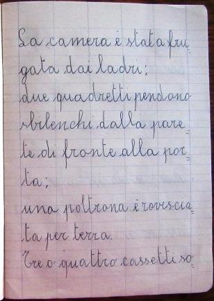 pensierino di seconda elementare di Susanna Albini - I ladri