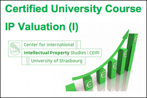 "Start of the Certified University Course on ""IP Valuation (I)"" on 15th of June"