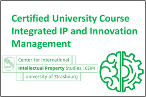 "Start of the Certified University Course on ""Integrated IP and Innovation Management"" on 15th of June"