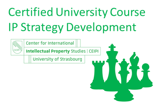 "Start of the Certified University Course on ""IP Strategy Development"" on 15th of June"
