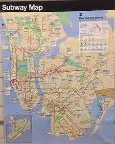 New York City Subway map A September 2015 subway map  displayed at 34th Street     Hudson Yards