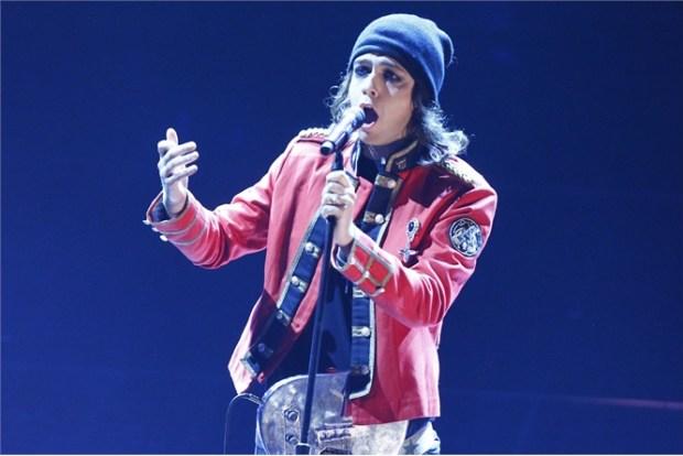 Dai, ditemi se non è uguale al cantante degli HIM. [LaPresse]