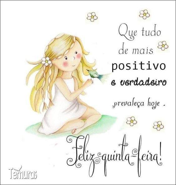 Feliz quinta-feira de sentimentos positivos