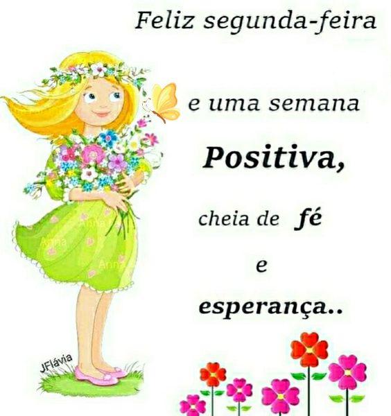 Feliz segunda-feira positiva