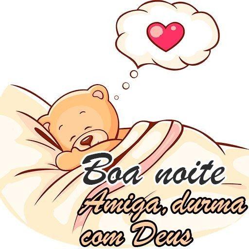 Boa noite para amiga