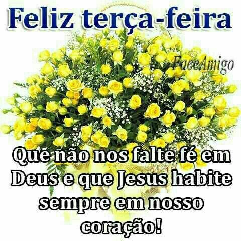 Feliz terça-feira com Jesus
