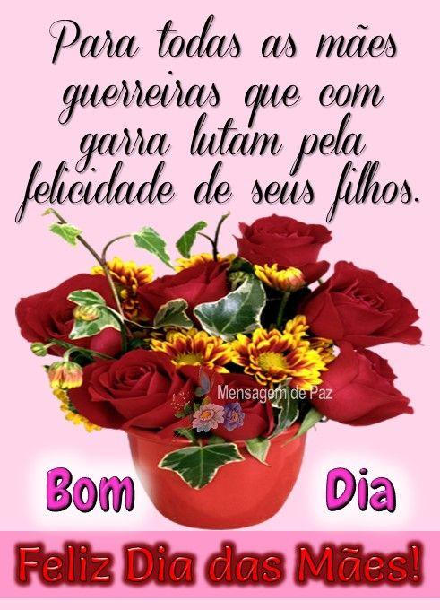 Feliz dia para todas as mães