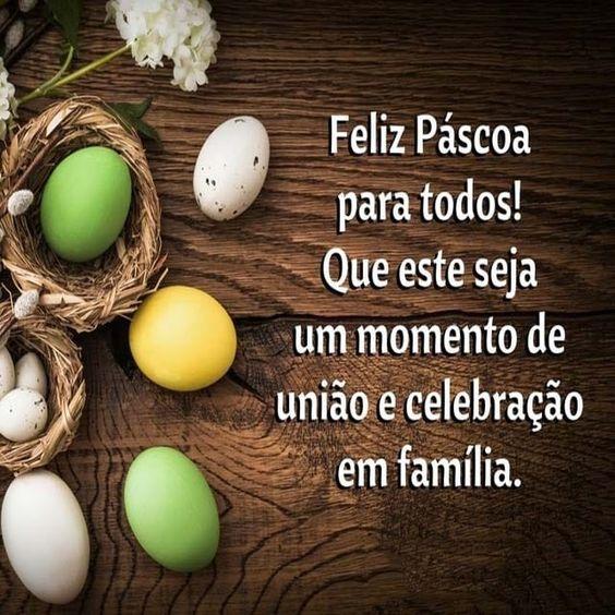 Feliz páscoa para todos