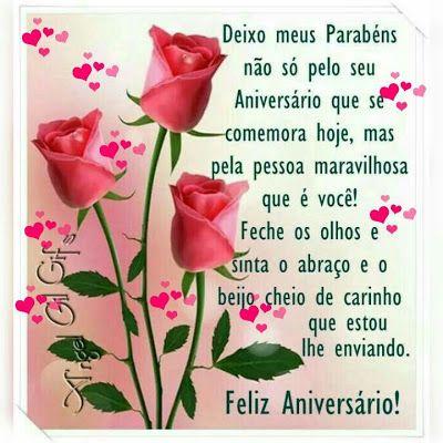 Feliz aniversário para pessoa maravilhosa