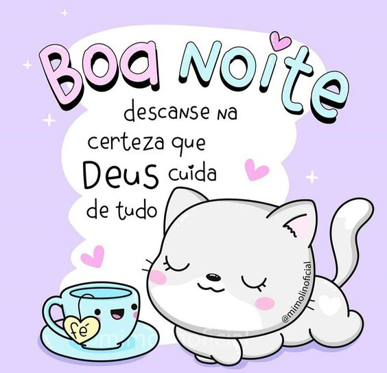 Boa noite Deus cuida