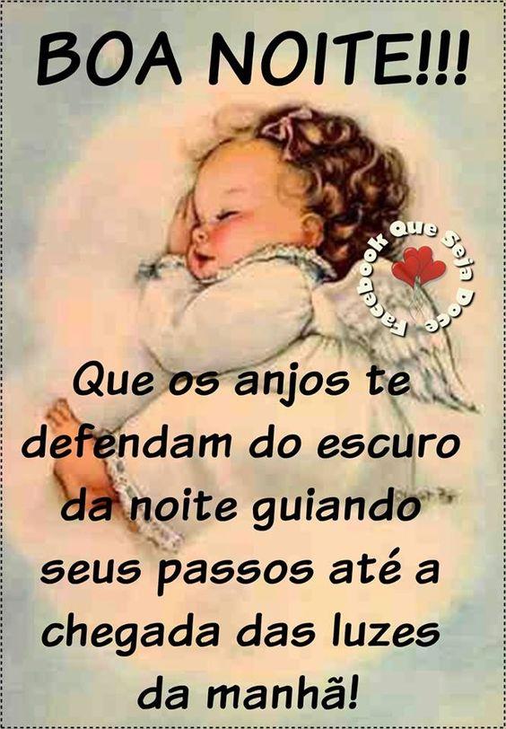 Boa noite anjos