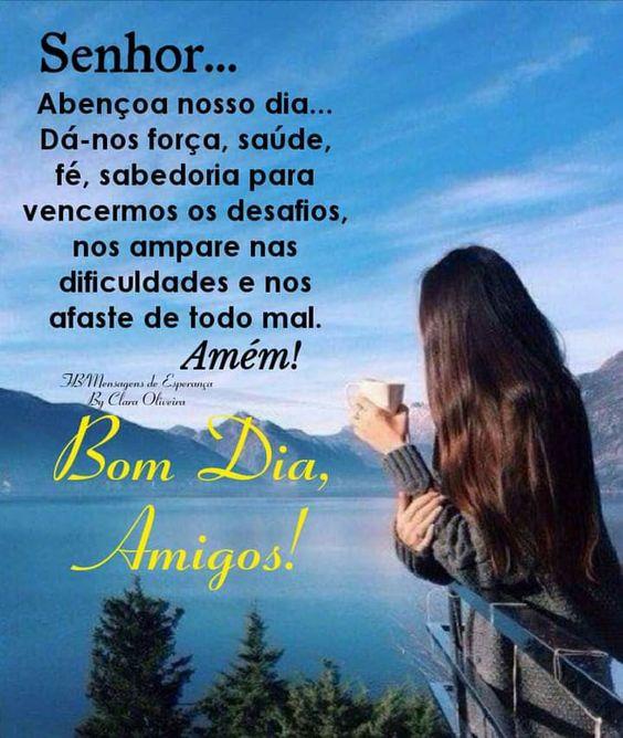 Oração de bom dia para amigos