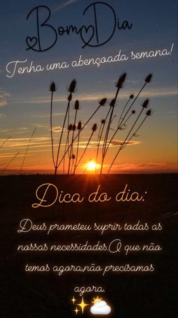 Mensagem de bom dia de sol para iluminar seu dia