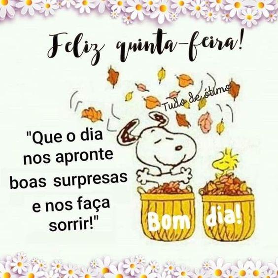 Dia de boas surpresas