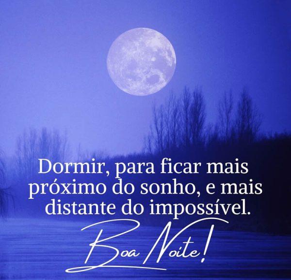 sonhos e realidade boa noite
