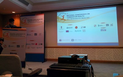 Presentations at 3rd National conference on tobacco or Health Mumbai