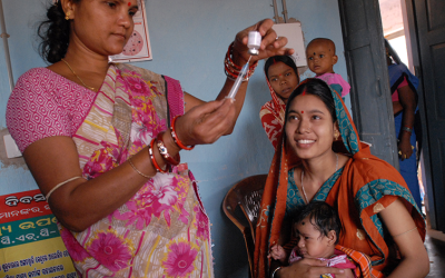 A lack of resources for community health nursing in  India