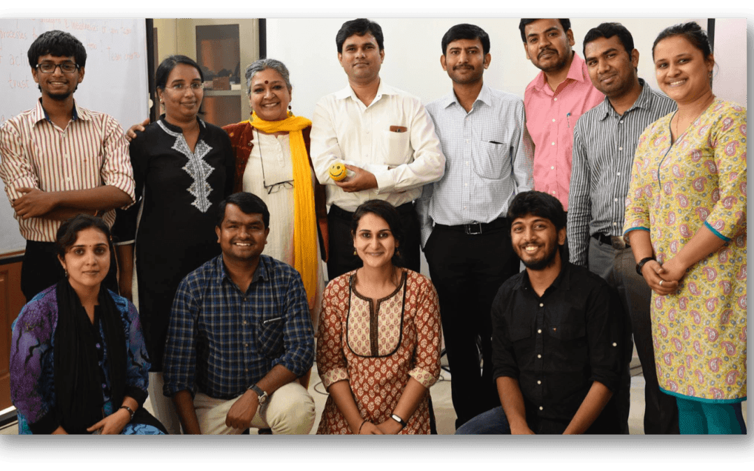 Short video on team building session with Dr.Roopa Devadasan