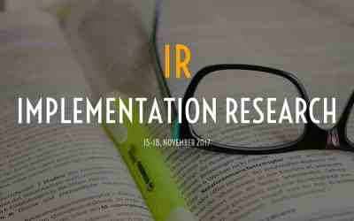 Call for application for Implementation research workshop