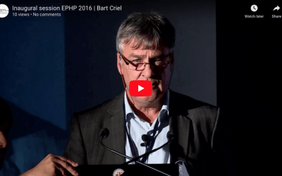 Inaugural session EPHP 2016 | Bart Criel