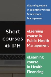 Short courses at IPH