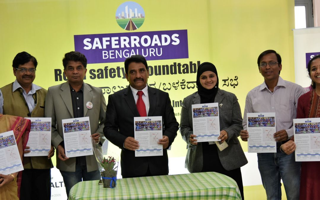 A round-table discussion on preliminary findings of the Saferroads Bengaluru study
