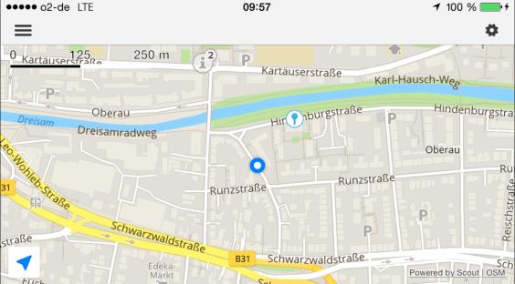 Scout GPS Navigation App