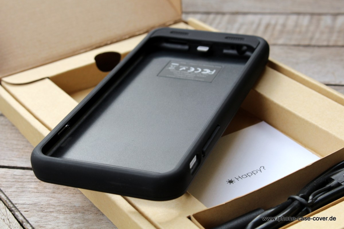 Externer Akku Hülle Battery Case für Apple iPhone 6