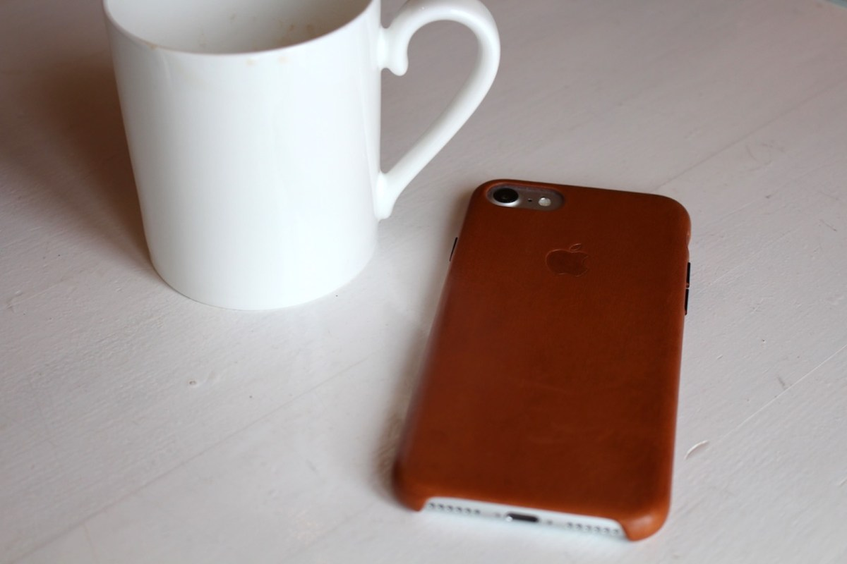 Apple Leder Case iPhone 7