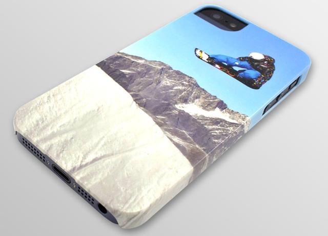 iPhone 5-Hülle mit eigenem Motiv