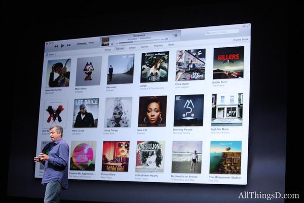 Eddy Cue iTunes