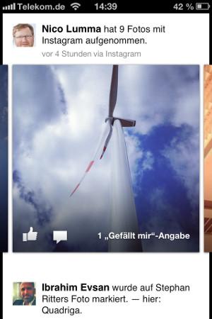 Facebook Kamera