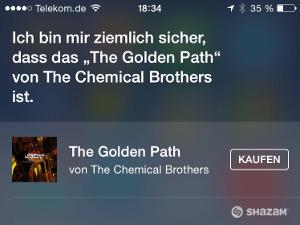 iOS 8 Siri Musik Lieder